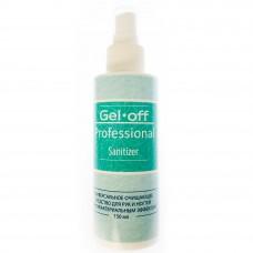 Универсальное очищающее средство для рук и ногтей с антибактериальным эффектом Gel*Off Professional Sanitizer